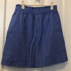J.Crew Factory Lilac Miniskirt